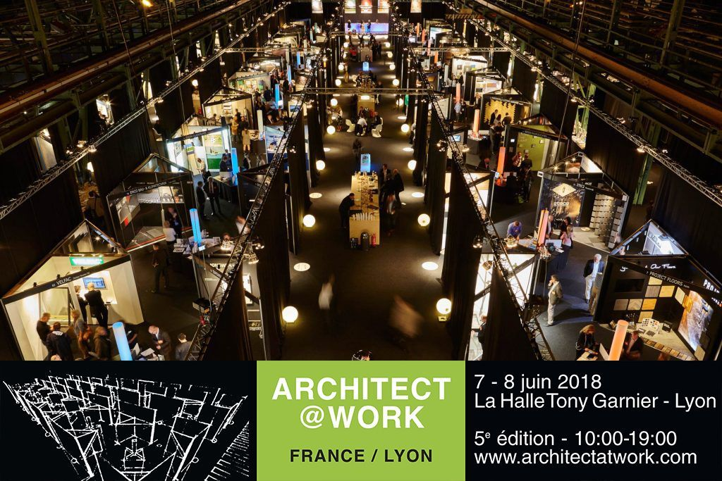 architect at work lyon 2018